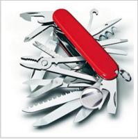 17开31中多功能不锈钢瑞士军刀